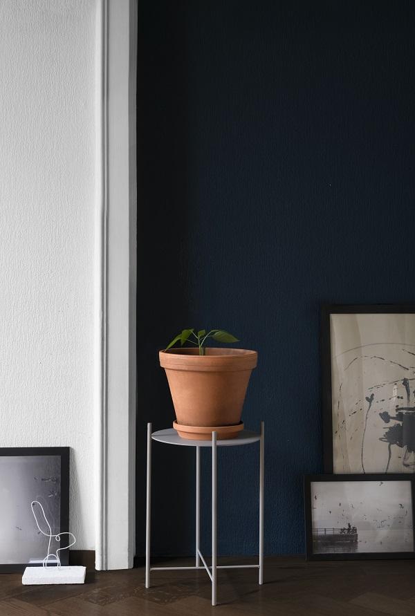 Metalen plantenstandaard voor kleine plant van SUPERLIFE - via Accessorize your Home