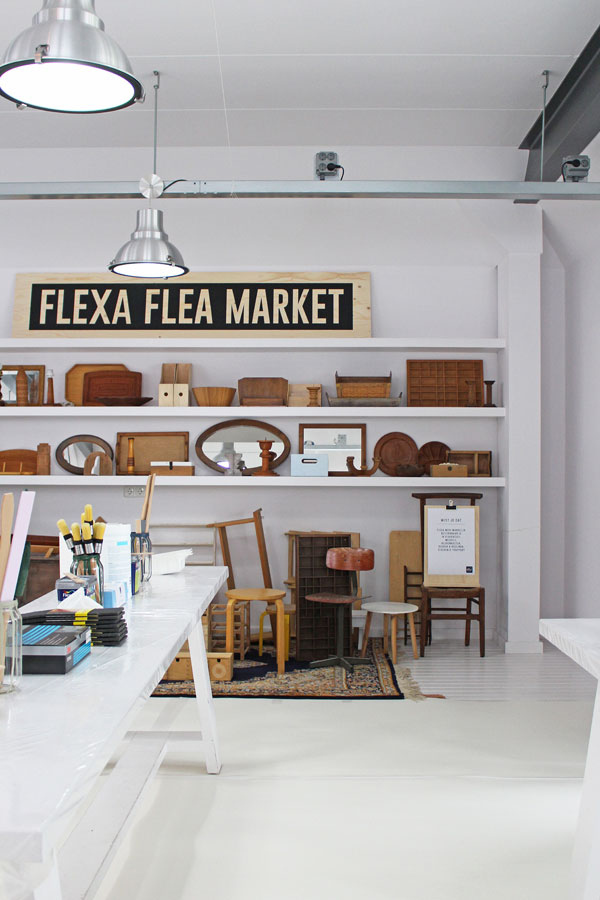 In de Flexa Flea Market kringloopvondsten die wachten op een make over met de Flexa Mooi Makkelijk verf - via Accessorize your Home