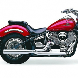 cobra power pro hp 2 into 1 complete exhaust v star 1100 99 up accessories international
