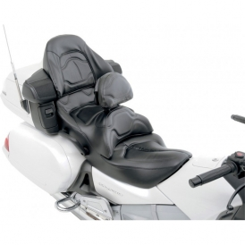 road sofa seat goldwing average width of a bed saddlemen with driver backrest passenger pad cover for honda gl1800 accessories international