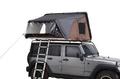 ikamper skycamp vinyl canopy closed Jeep