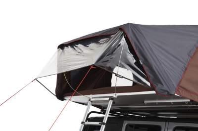 ikamper skycamp vinyl canopy open Jeep