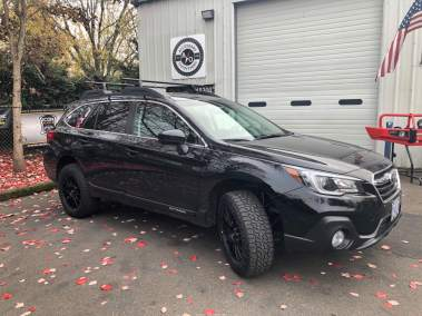 Subaru Outback with Lift