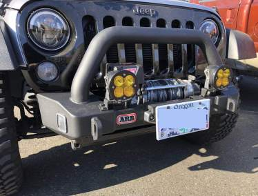 Jeep Baja Designs WARN ARB