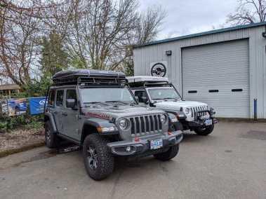 Jeep RTT iKamper AutoHome Overlanding Gobi Rack Baja KargoMaster