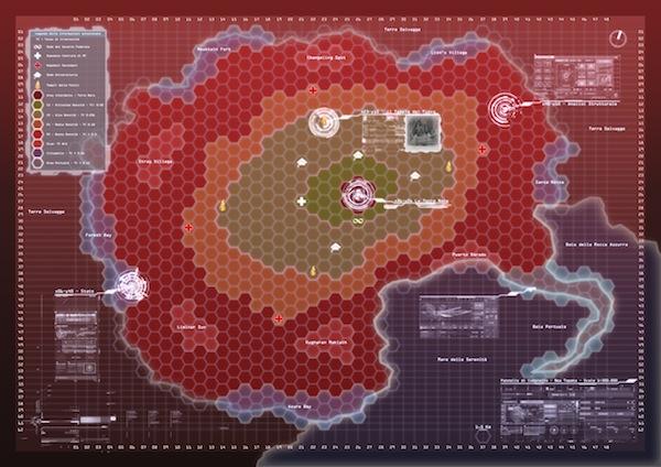 Mappa New Topeka