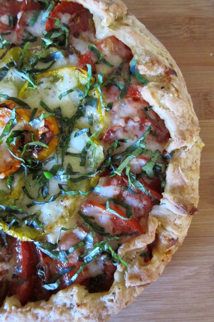 Heirloom Tomato Spelt Galette | Accidental Artisan