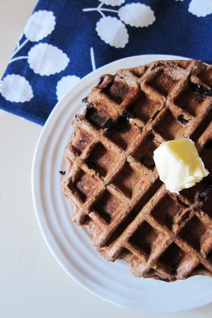 Teff and Spelt Blueberry Waffles | Accidental Artisan