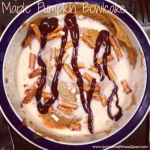 Maple Pumpkin Bowlcake