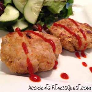 Thai Curry Turkey Fritters