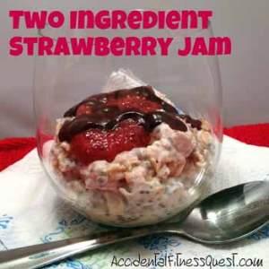 Two Ingredient Strawberry Jam