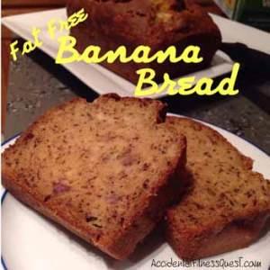 Fat Free Banana Bread