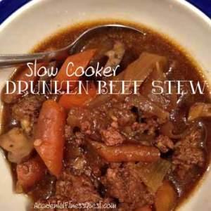 Slow Cooker Drunken Beef Stew