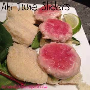 Ahi Tuna Sliders