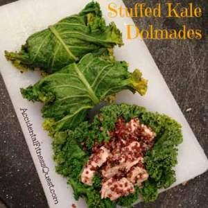 Stuffed Kale Dolmades