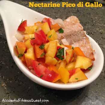Nectarine Pico di Gallo