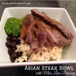 Asian Steak Bowl - Miso Lime Dressing