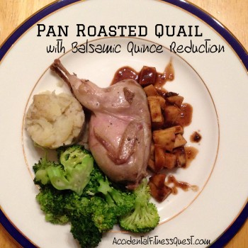 Pan Roasted Quail