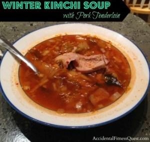 Winter Kimchi Soup