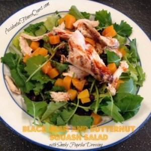 Black Bean and Butternut Squash Salad