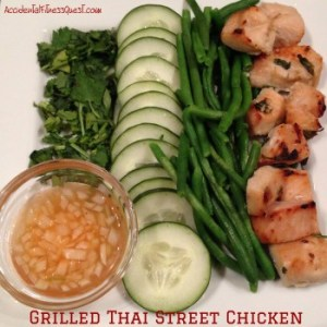Grilled Thai Street Chicken