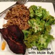 Pork Chops with Mole Rub