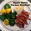 Apple Curry Turkey Meatloaf