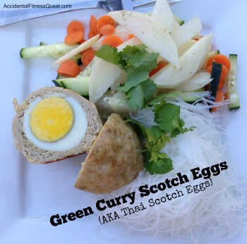 Green Curry Scotch Eggs