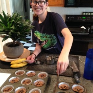 The Kid Making Muffins