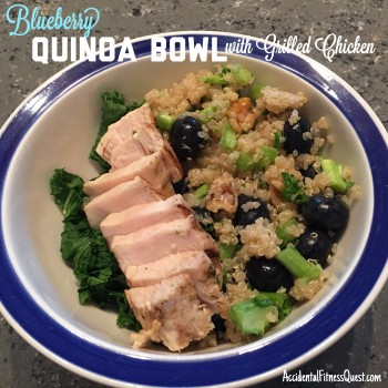 Blueberry Quinoa Bowl