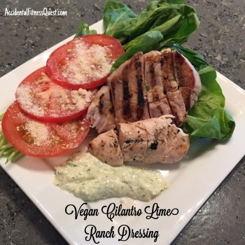 Vegan Cilantro Lime Ranch Dressing