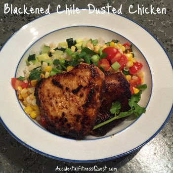Blackened Chile Dusted Chicken