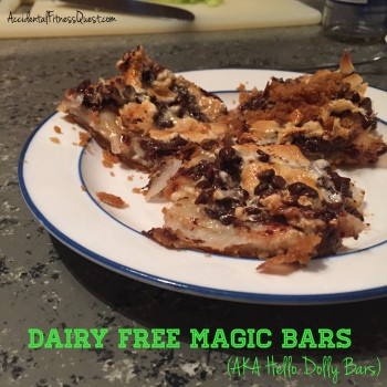 Dairy Free Magic Bars