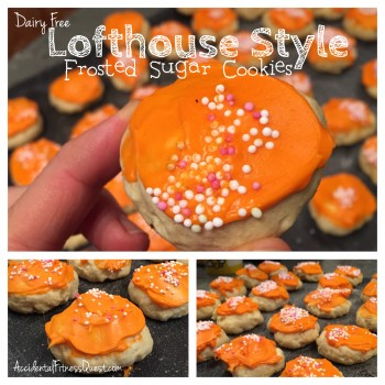 Dairy Free Lofthouse Style Cookies