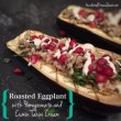 Roasted Eggplant with Cumin Tahini Cream