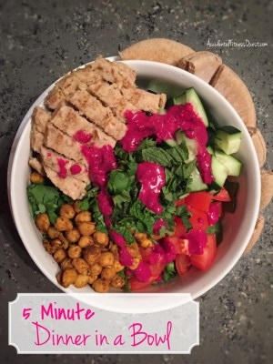 5 Minute Dinner In A Bowl