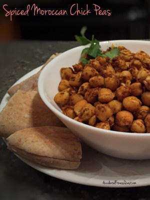 Spiced Moroccan Chick Peas