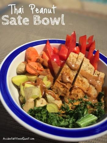 Thai Peanut Sate Bowl