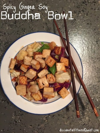 Spicy Ginger Buddha Bowl