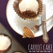 Dairy free carrot cake cupcakes