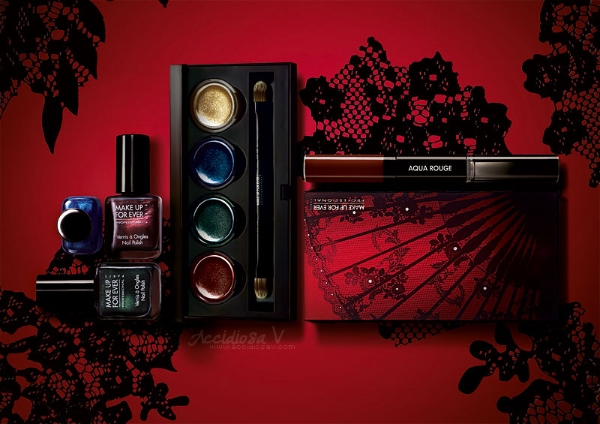 """Make Up For Ever """"Black Tango"""", Fall Winter 2012/2013 Collection - Products Overview"""