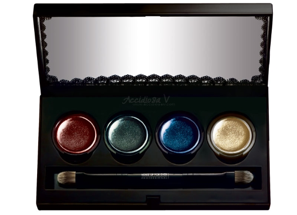 """Make Up For Ever """"Black Tango"""", Fall Winter 2012/2013 Collection - Palette"""