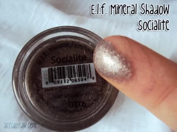 elf mineral socialite