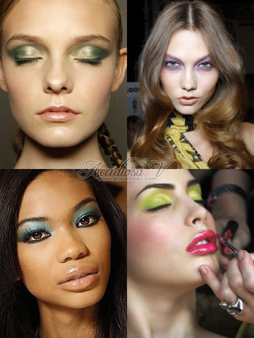 2011 Make Up Trends: Bright Pastel Eyes