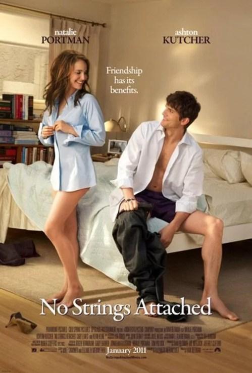No strings attached (amici amanti e..) poster - Natalie Portman, Ashton Kutcher