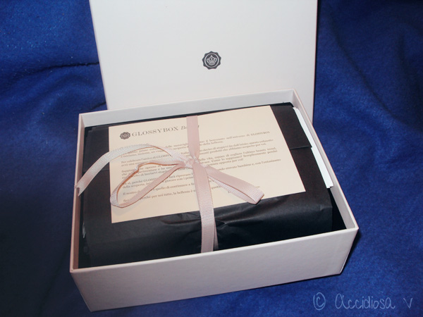 GlossyBox Ottobre 2011