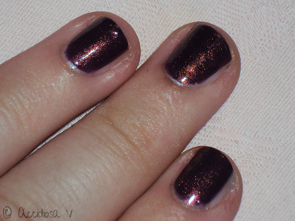 Essence Thelma + CND Copper Shimmer