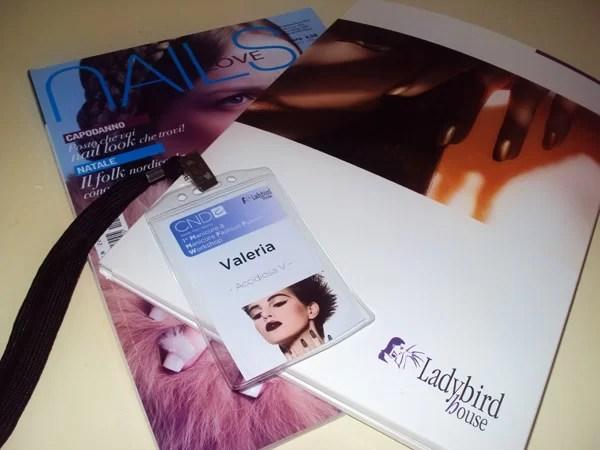 Ladybird House - CND 1^ manicure fashion fusion