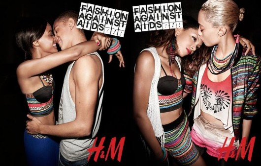 H&M Fashion Against AIDS Lookbook - www.accidiosav.com