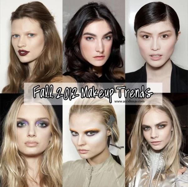 Fall 2012 Makeup Trends